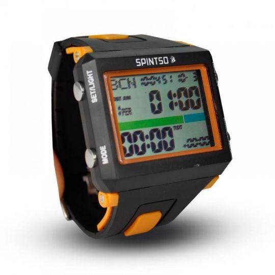 Spintso Horloge Black/Orange