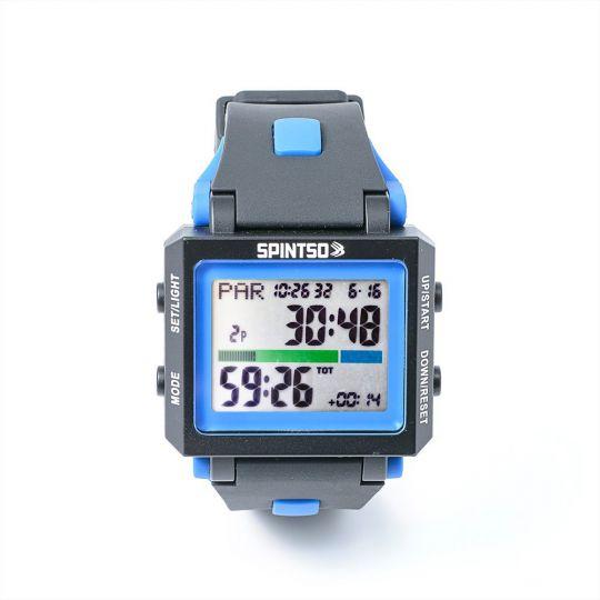 Spintso Horloge 2X Black/Blue