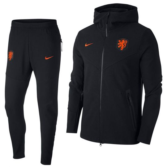 Nike Nederland Tech Fleece Pack Trainingspak 2020-2022 Zwart