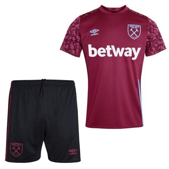 UMBRO West Ham United Trainingsset 2020-2021 Rood Zwart