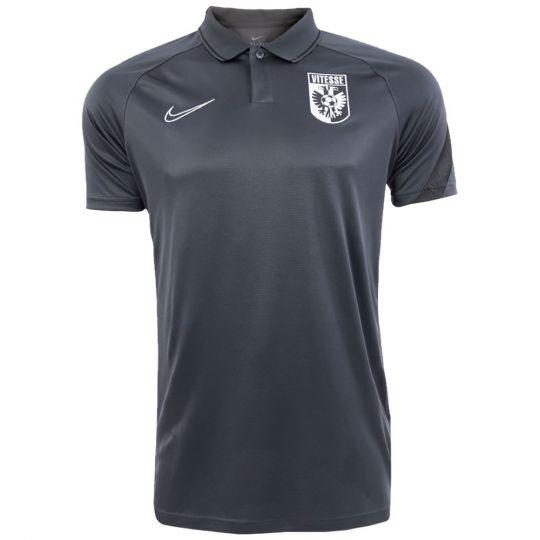 Nike Vitesse Trainingspolo 2020-2021 Donkergrijs Zwart