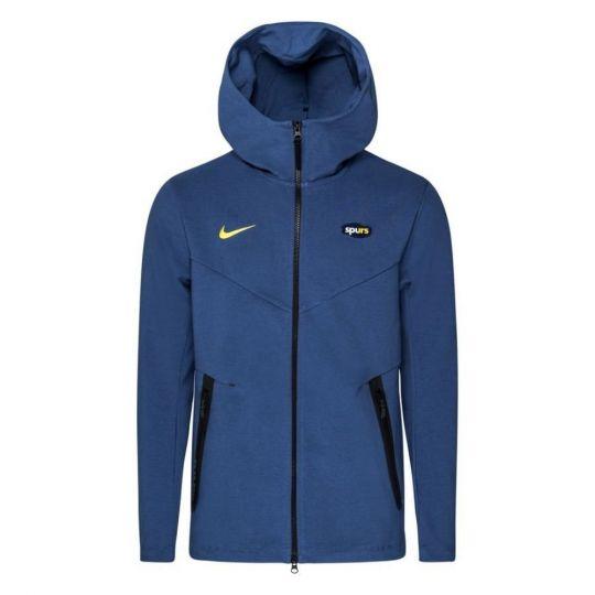 Nike Tottenham Hotspur Tech Fleece Pack Hoodie FZ CL 2020-2021 Blauw
