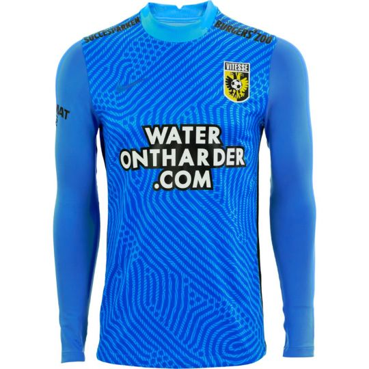 Nike Vitesse Keepersshirt Lange Mouwen 2020-2021 Kids Blauw