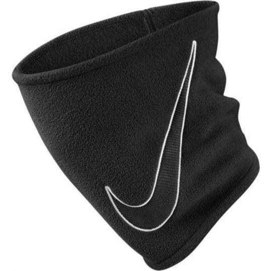 Nike Fleece Nekwarmer 2.0 Kids Zwart Swoosh Wit