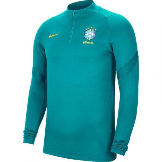 Nike Brazilie Dry Strike Trainingstrui 2020-2021 Groen