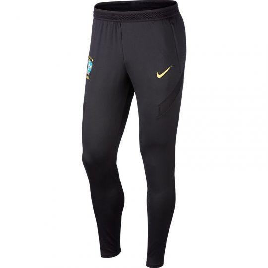 Nike Brazilie Dry Strike Trainingsbroek 2020-2021 Zwart