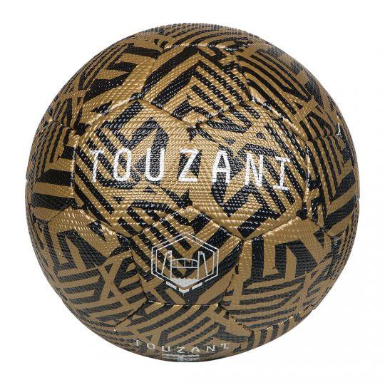 Touzani Straat Voetbal Replica Maat 5 Zwart Goud