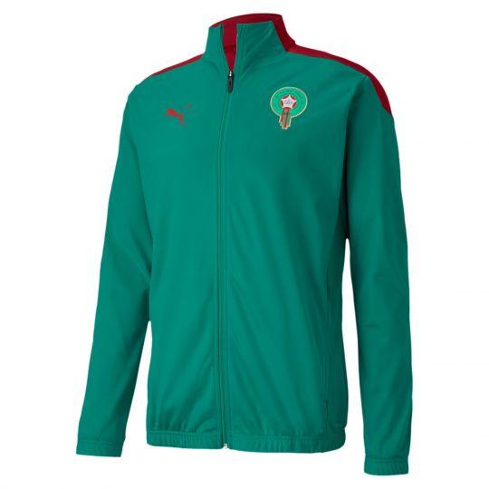 PUMA Marokko Stadium Trainingsjack Groen Rood