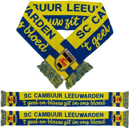 SC Cambuur Sjaal Geel en Blauw