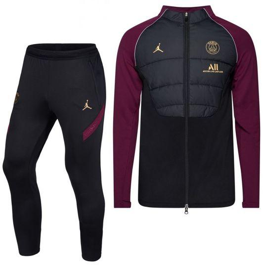 Nike Paris Saint Germain Therma Strike DRL Trainingspak 2020-2021 Zwart