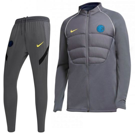 Nike Inter Therma Strike Trainingspak 2020-2021 CL Grijs