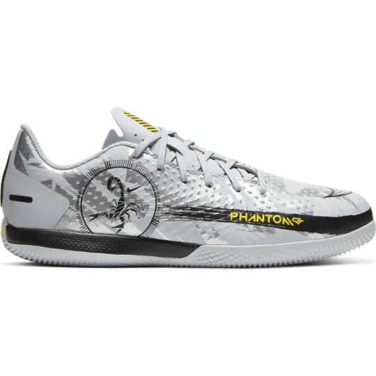 Nike PHANTOM GT ACADEMY SE Zaalvoetbalschoenen (IN) Kids Zilver
