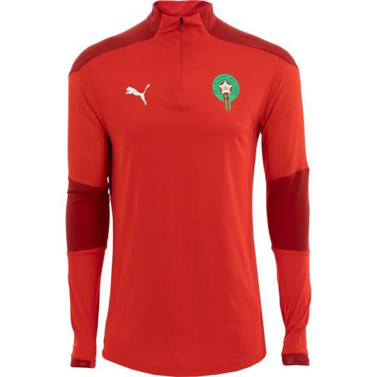PUMA Marokko 1/4 Zip Trainingstrui 2020-2022 Rood