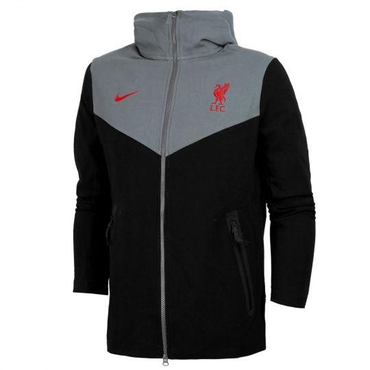 Nike Liverpool FC Tech Fleece Pack Hoodie FZ 2020-2021 Zwart Grijs