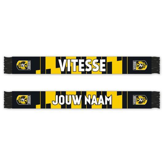 Vitesse Sjaal (Fleece) Gepersonaliseerd