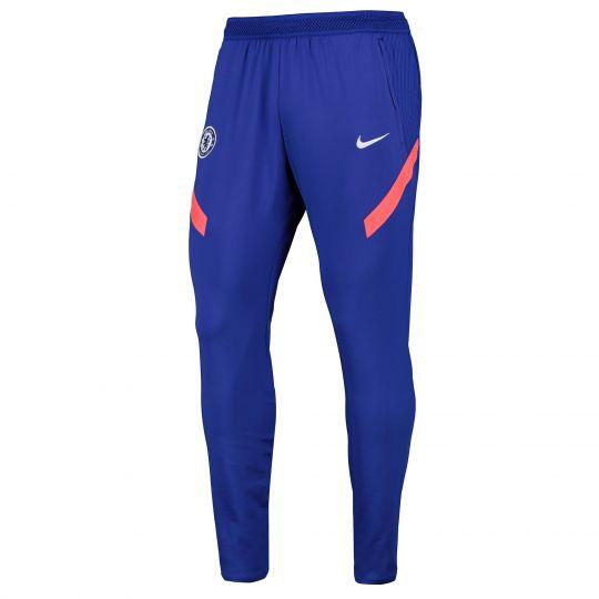 Nike Chelsea Dry Strike Trainingsbroek KP CL 2020-2021 Blauw