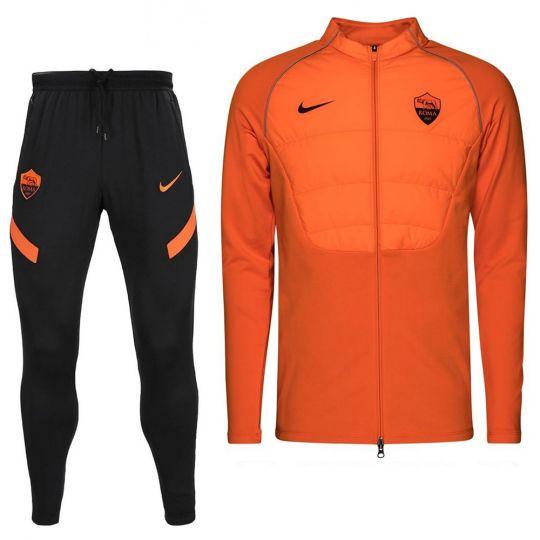 Nike AS Roma Therma Strike Trainingspak 2020-2021 CL Oranje