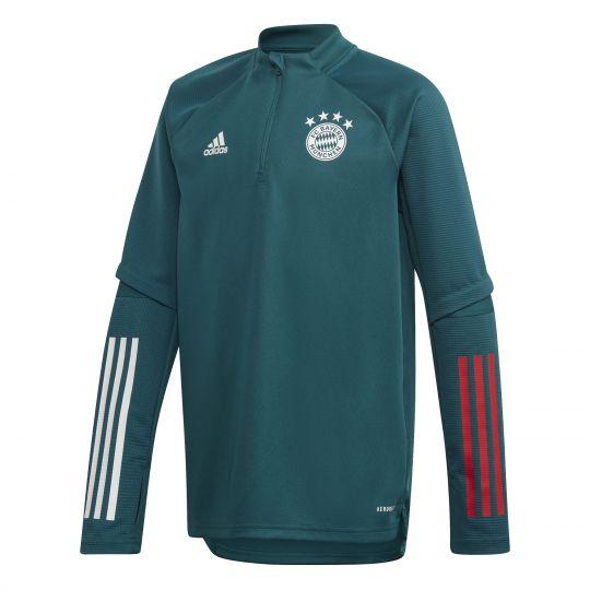 adidas Bayern München Trainingstrui 2020-2021 Groen
