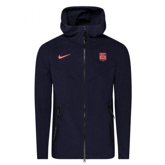 Nike Chelsea Tech Fleece Pack Hoodie CL 2020-2021 Donkerblauw