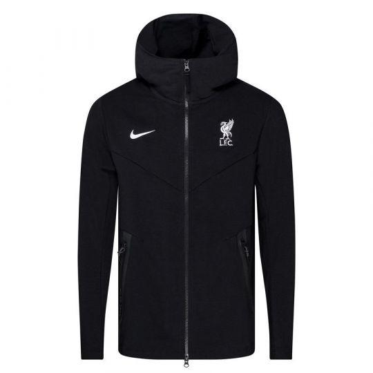 Nike Liverpool FC NSW Tech Pack Hoodie FZ CL 2020-2021 Zwart