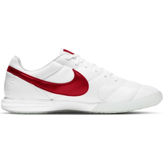 Nike Premier II SALA ZAALVOETBALSCHOENEN (IC) Wit Rood