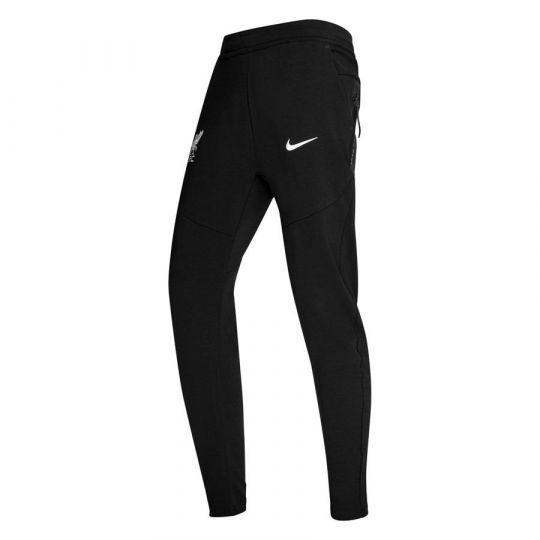 Nike Liverpool Tech Fleece Trainingsbroek 2020-2021 Kids Zwart