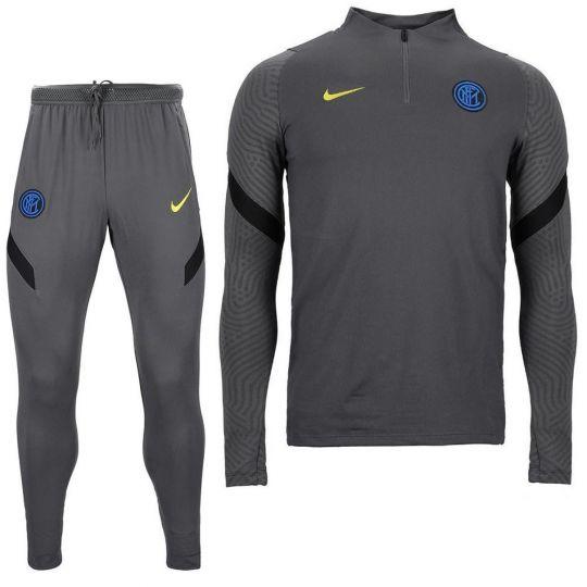 Nike Inter Milan Strike Trainingspak CL 2020-2021 Kids Grijs