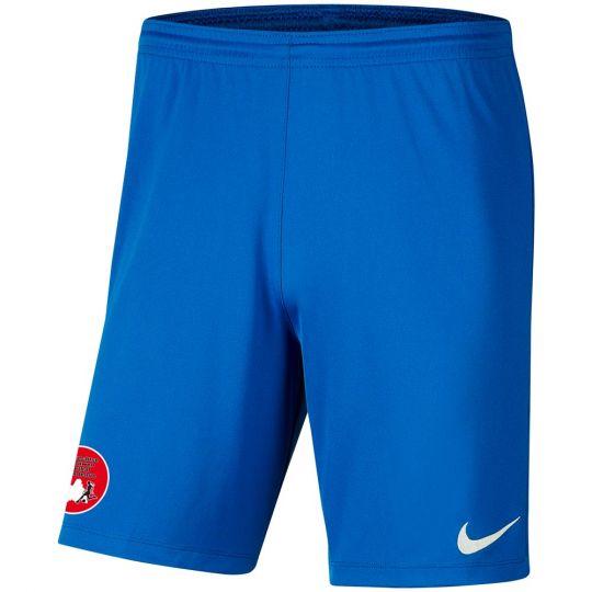 UVVA Keepersshort Junior Blauw