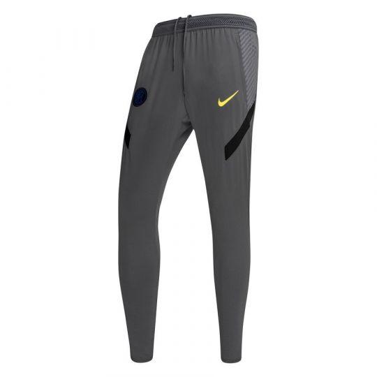 Nike Inter Milan Dry Strike Trainingsbroek KP 2020-2021 Donkergrijs