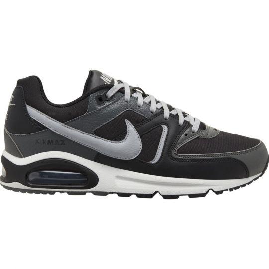 Nike Air Max Command Leather Sneaker Zwart Grijs