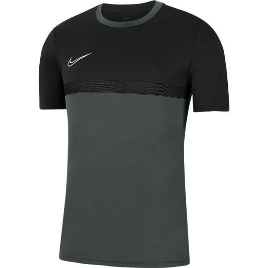 Nike Dry Academy Pro Trainingsshirt Kids Antraciet Zwart