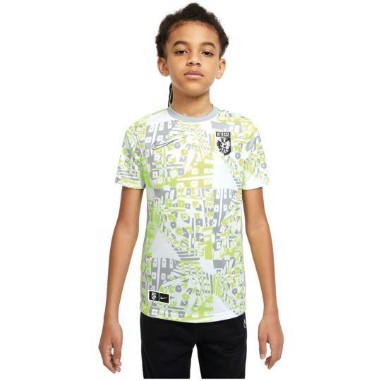 Nike Vitesse Trainingsshirt 2020-2021 Kids Wit Grijs Volt