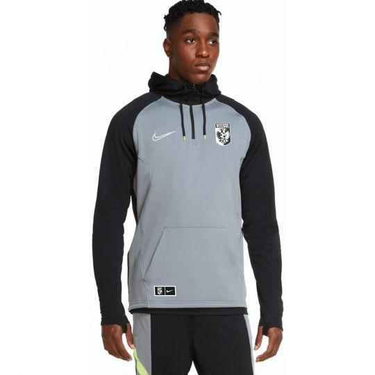 Nike Vitesse Training Hoodie 2020-2021 Grijs Zwart Volt