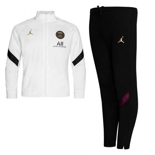 Nike Paris Saint Germain Dry Strike Trainingspak 2020-2021 CL Peuters Wit Zwart