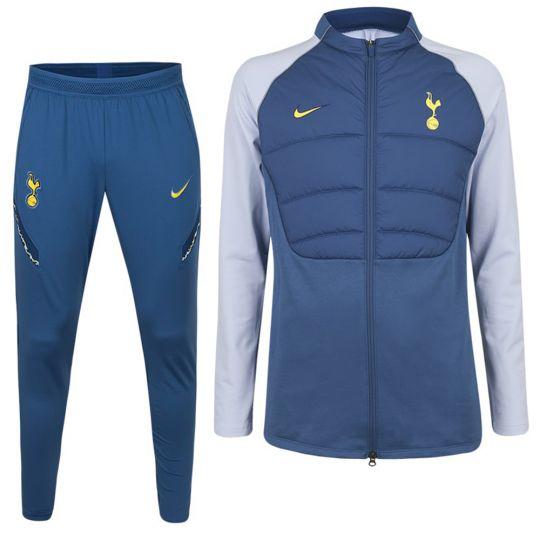 Nike Tottenham Hotspur Strike Therma Trainingspak 2020-2021 Blauw