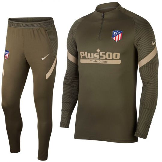 Nike Atletico Madrid Strike Drill Trainingspak 2020-2021 Groen