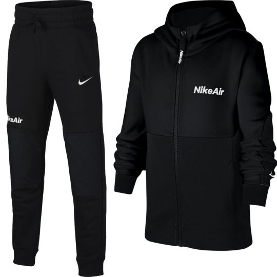 Nike NSW Air Trainingspak Kids Zwart