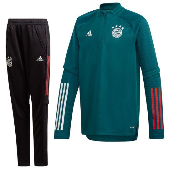 adidas Bayern München Trainingspak 2020-2021 Kids Groen
