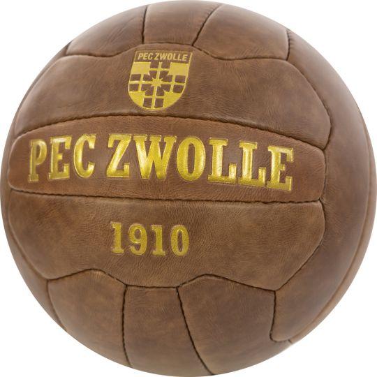 PEC Zwolle Retro Voetbal Maat 5 + Gratis Standaard