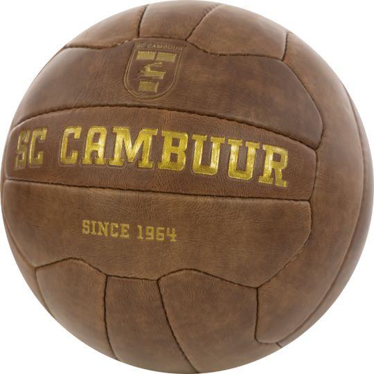SC Cambuur Retro Voetbal Maat 5 + Gratis Standaard