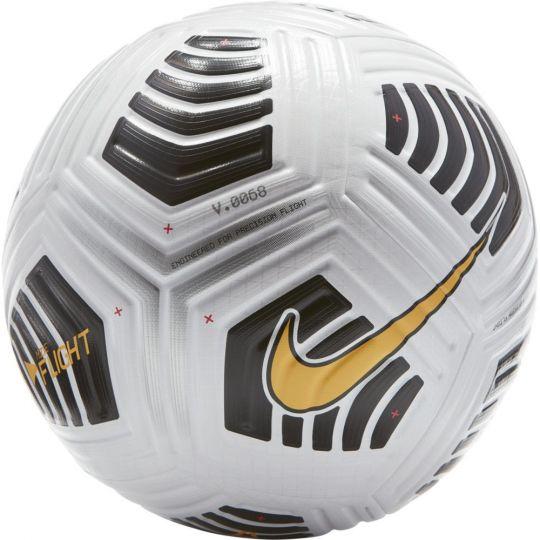 Nike Flight Elite Officiële Voetbal Maat 5 Wit Zwart Oranje