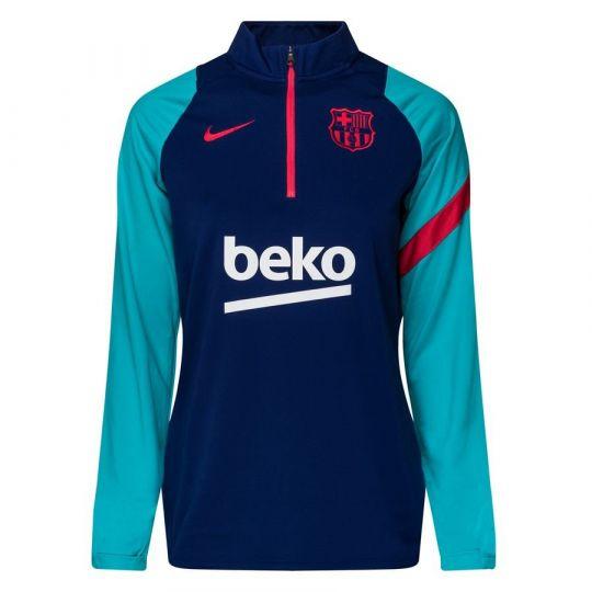 Nike FC Barcelona Academy Pro Trainingstrui 2021 Vrouwen Blauw Rood