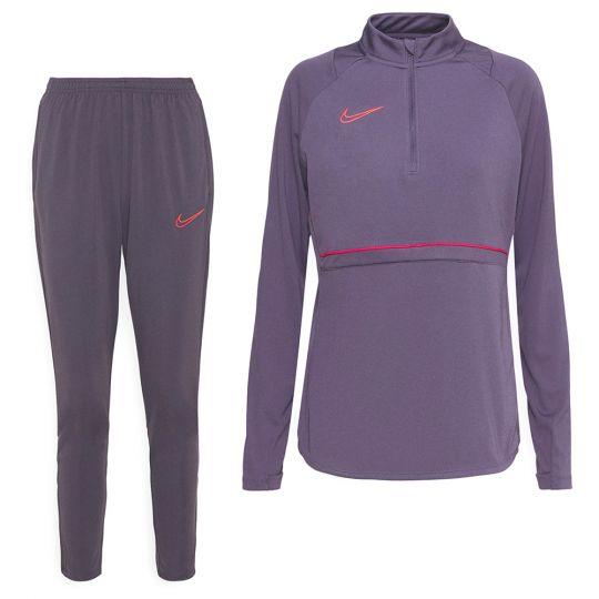 Nike Academy 21 Trainingspak Vrouwen Paars Rood