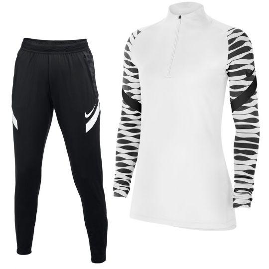 Nike Strike 21 Trainingspak Vrouwen Wit Zwart