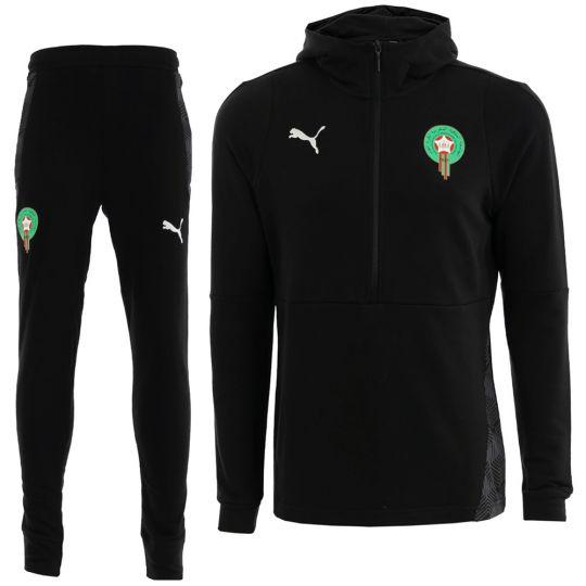PUMA Marokko Casual Trainingspak 2020-2021 Zwart