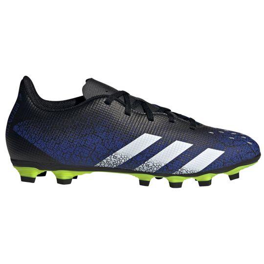 adidas Predator Freak.4 Gras / Kunstgras Voetbalschoenen (FxG) Blauw Wit Zwart