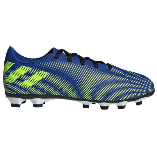 adidas Nemeziz.4 Gras / Kunstgras Voetbalschoenen (FxG) Kids Blauw Geel Wit