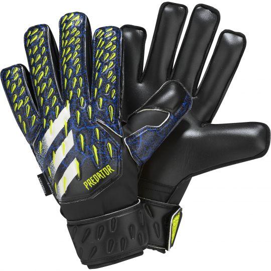 adidas Predator Match Keepershandschoenen FS Kids Zwart Blauw Geel