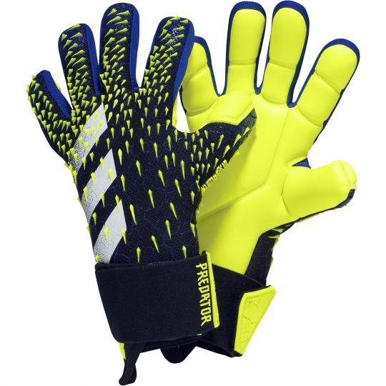 adidas Predator Pro Keepershandschoenen Kids Zwart Blauw Geel