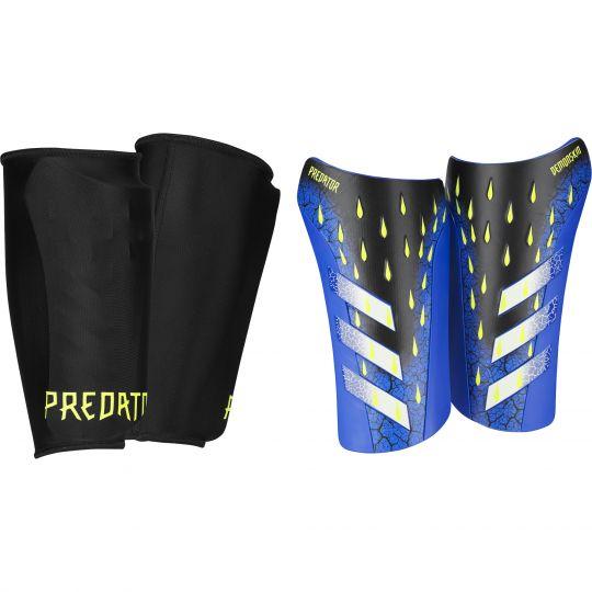 adidas Predator League Scheenbeschermers Zwart Wit Geel